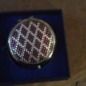 Accessories - Swarovski Compact mirror